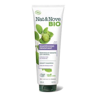 Shampooing Densifiant Cheveux plats - Nat&Nove BIO - Cheveux