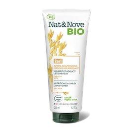 Après-shampooing - Masque 2 en 1 Nourrissant - Nat&Nove BIO - Cheveux