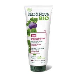 Après-shampooing - Masque 2 en 1 Eclat - Nat&Nove BIO - Cheveux