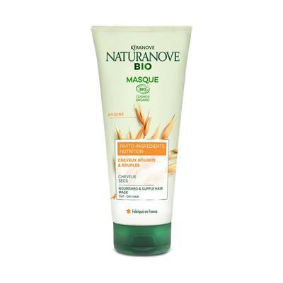 Masque Nutrition Avoine Cheveux secs - KÉRANOVE NATURANOVE BIO - Cheveux