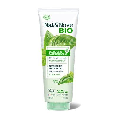 Gel Douche Rafraîchissant - Nat&Nove BIO - Hygiène