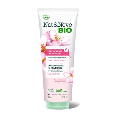 Gel Douche Hydratant - Nat&Nove BIO - Hygiène