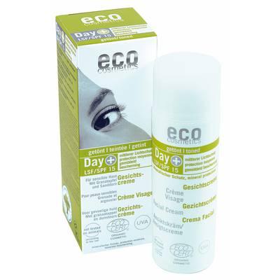 Crème Visage indice 15 teintée - Eco cosmetics - Visage