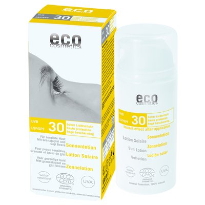 Lotion Solaire indice 30 - Eco cosmetics - Solaires