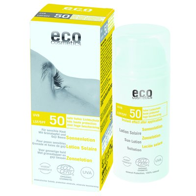 Lotion Solaire indice 50 - Eco cosmetics - Solaires