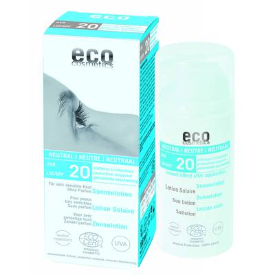 Sun lotion SPF 20 neutral - Eco cosmetics - Sun