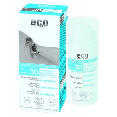Lotion Solaire indice 30 neutre - Eco cosmetics - Solaires