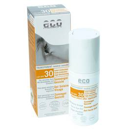 Gel Solaire Visage indice 30 - Eco cosmetics - Solaires