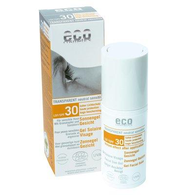 Gel Solaire Visage indice 30 - Eco cosmetics - Solaires