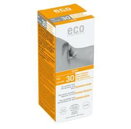 Sun cream SPF 30 toned - Eco cosmetics - Sun