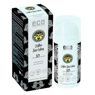 Tattoo Lotion Solaire indice 30 - Eco cosmetics - Solaires