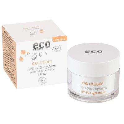 ECO CC Crème indice 50 teinte claire - Eco cosmetics - Visage - Solaires