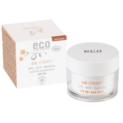 ECO CC Crème indice 50 foncée - Eco cosmetics - Visage - Solaires