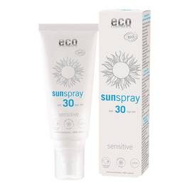Spray solaire indice 30 sensitive - Eco cosmetics - Solaires