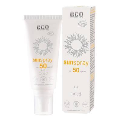 Sunspray SPF 50 toned Q10 - Eco cosmetics - Sun