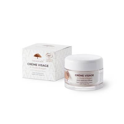 Crème visage à l'huile d'argan - ARGADERM - Visage
