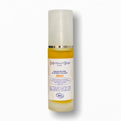 DRY OILS & ANTI-AGING ALGAE EXTRACT 30ML - KontournAge - Face - Body - Hair - Massage and relaxation