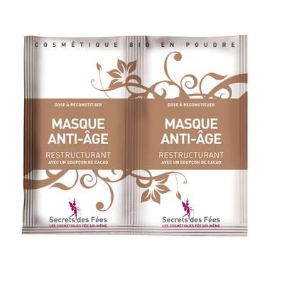 Masque anti-Age restructurant - Secrets des Fées - Visage