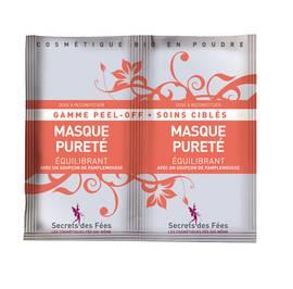 Masque Peel Off Pureté Equilibrant - Secrets des Fées - Visage