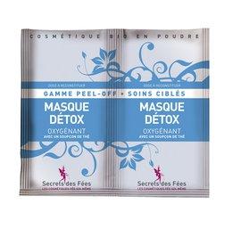 Detox pee loff mask oxygenating - Secrets des Fées - Face