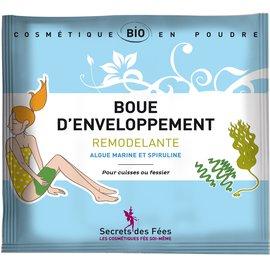Mud wrap Remodeling Seaweed and spirulina - Secrets des Fées - Body