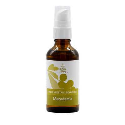 Huile de macadamia - De Saint Hilaire - Diy ingredients