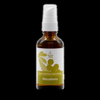 Huile de macadamia - De Saint Hilaire - Diy ingredients