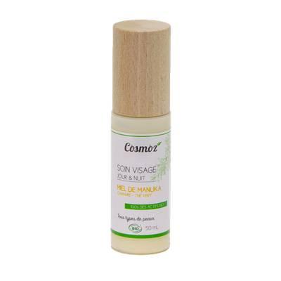 Crème visage jour & nuit au miel de Manuka - Cosmoz - Visage