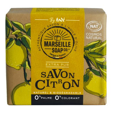 Savon citron - MARSEILLE SOAP CO - Hygiène