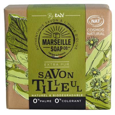 Savon tilleul - MARSEILLE SOAP CO - Hygiène