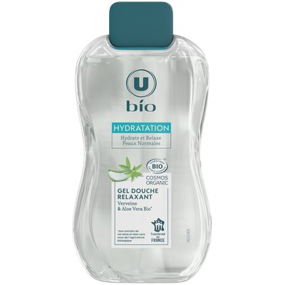 Gel douche Relaxant Verveine & Aloe Vera Bio - U BIO - Hygiène
