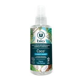 image produit Huile sèche nourrissante coco