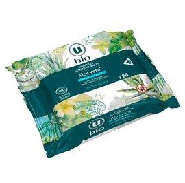 Aloe Vera cleansing wipes - U BIO - Face
