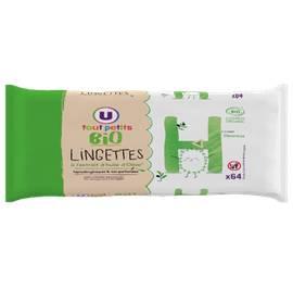 Lingettes bébé huile d'olive - UTP BIO (U TOUTS PETITS BIO) - Bébé / Enfants