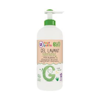 Cleansing gel - UTP BIO (U TOUTS PETITS BIO) - Baby / Children