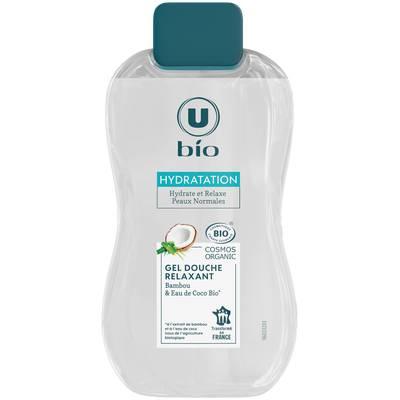 Gel Douche Bambou & eau de coco U Bio - U BIO - Hygiène