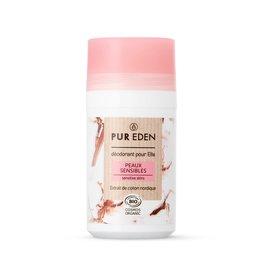 Déodorant Roll-On peaux sensibles 50ml pour elle - PUR EDEN - Hygiène
