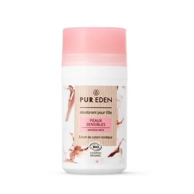 Déodorant Roll-On peaux sensibles 50ml pour elle - PUR EDEN - Hygiene