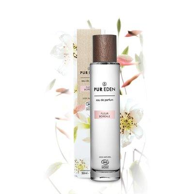 EAU DE PARFUM FLEUR BORéALE 50ML POUR ELLE - PUR EDEN - Parfums et eaux de toilette