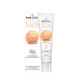 image produit Spray solaire visage et corps spf50
