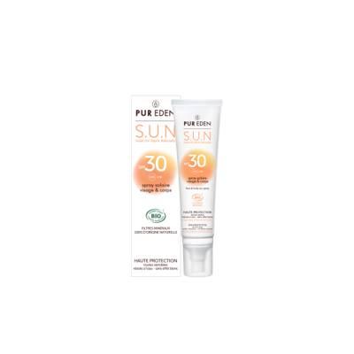 Sun Spray face and body SPF30 - PUR EDEN - Face - Body - Sun