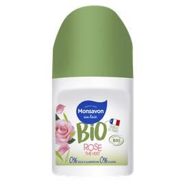 image produit Déodorant bille rose thé vert