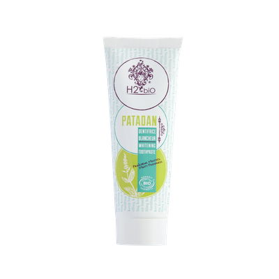Patadan dentifrice blancheur - H2bio® - Hygiène