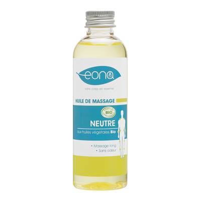 Huile de Massage Neutre bio - EONA - Massage et détente - Corps