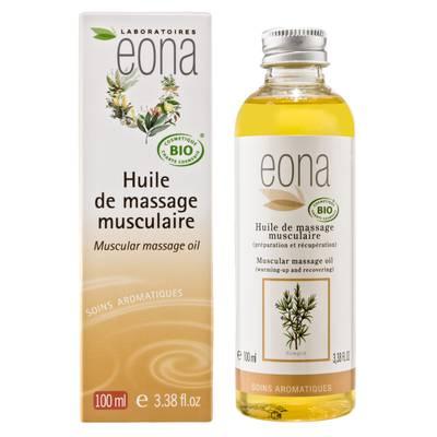 Huile de massage Musculaire Bio - EONA - Massage et détente - Corps
