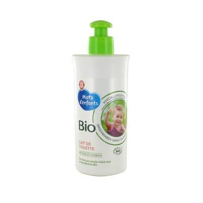 Lait de toilette bébé - Mots d'Enfants bio - Baby / Children