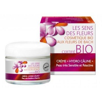 """Crème """"Hydro-Câline' Peau sensible et réactive - Les Sens des Fleurs - Visage"""