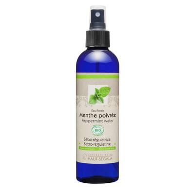 Peppermint floral water - Laboratoire du haut segala - Face