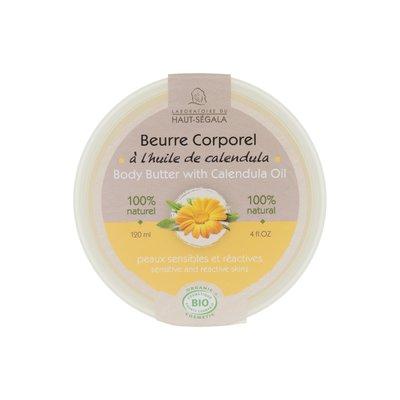 Beurre corporel à l'huile de calendula - Laboratoire du haut segala - Corps