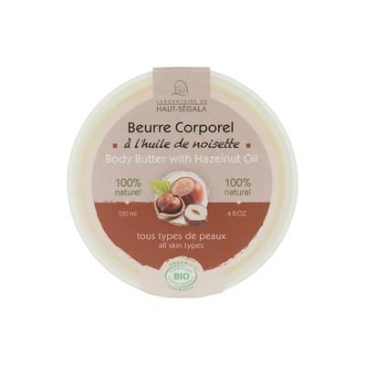Beurre corporel à l'huile de noisette - Laboratoire du haut segala - Corps